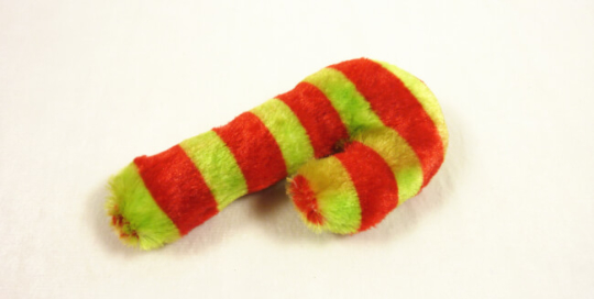 Candy Cane Plush Toy