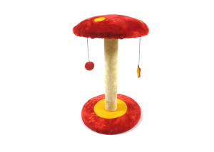 Plush Mushroom Type Cat Tree