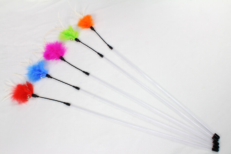 Perfect Feather Bouncer Cat Wand Teaser