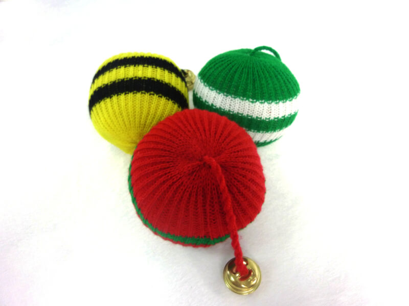 Knitted Ball Toys For Cats