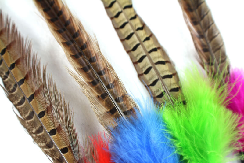 Catkins Amp Pheasant Feather Teaser Cat Toy With Bell Inlong