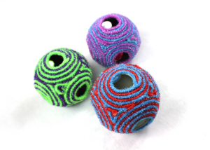 6-Hole Rope Ball With Sound For Cat