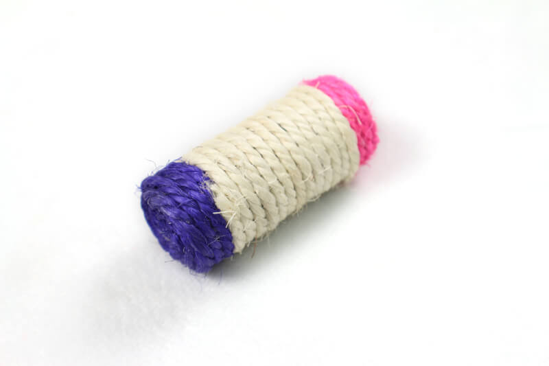 Small Sisal Roller Cat Toy