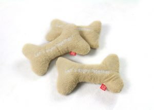 Towel Bone Dog Toy