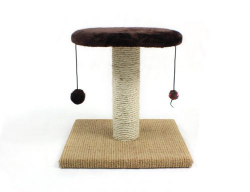 Playground Scratching Post with Toy and Perch